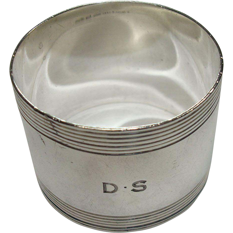 Tiffany & Co. Sterling Napkin Ring