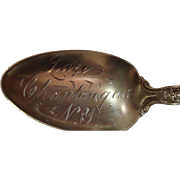 Lake Chautaugua New York Souvenir Spoon