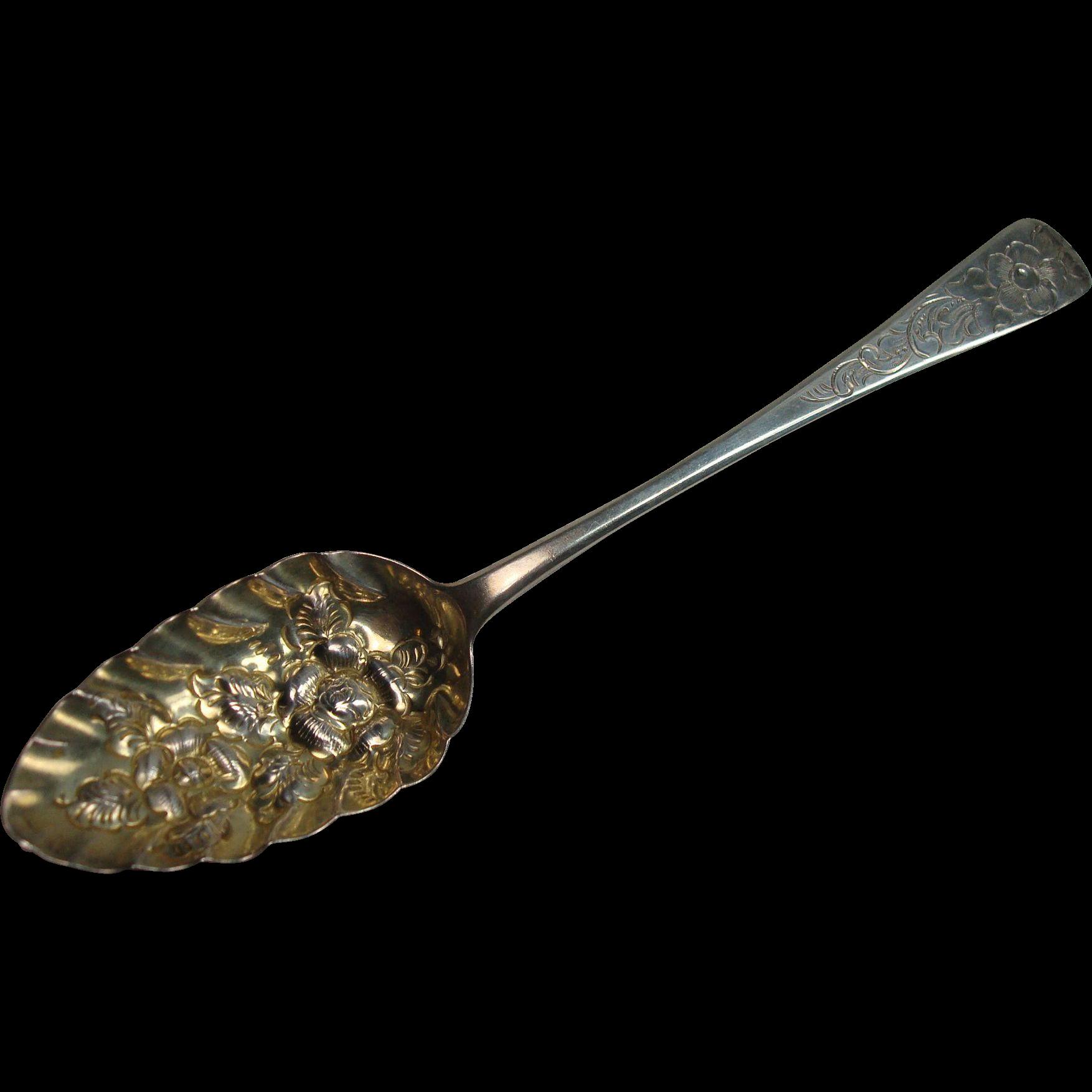 1802 London John Blake Berry Spoon