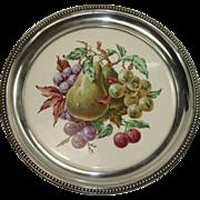 Wallace Sterling Bordered Fruit Trivet