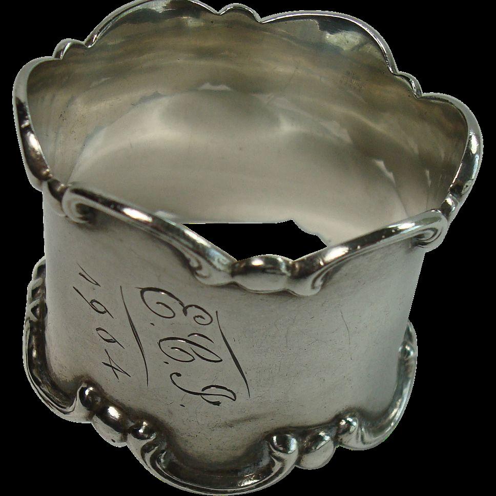 Gorham 1904 Acanthus Napkin Ring