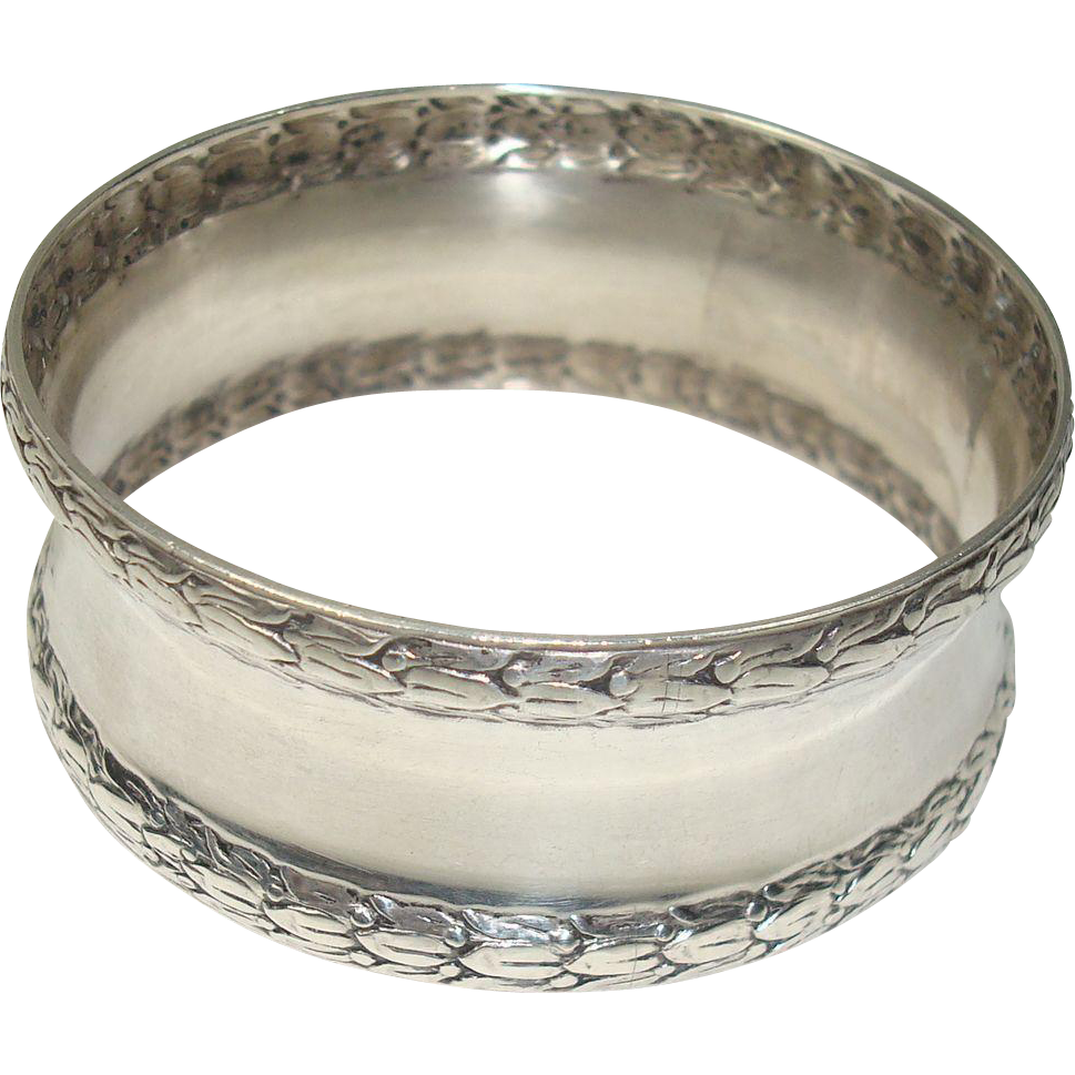Weidlich Large Sterling Napkin Ring