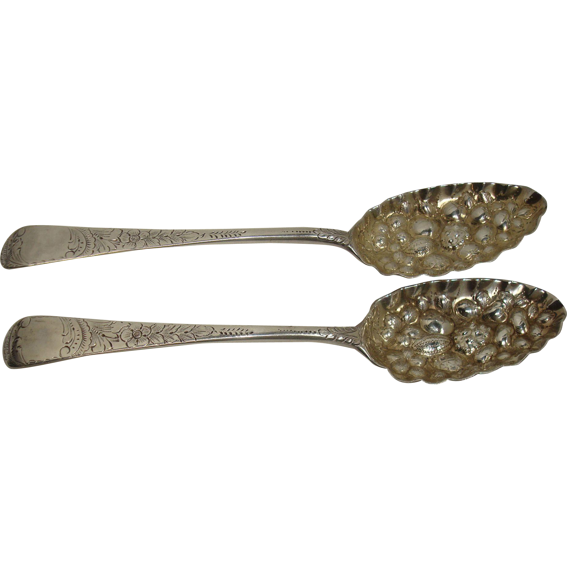 1790 George Smith  William Fearn Berry Spoons