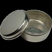 Thomae Co. Sterling Trinket Box
