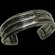 Sterling Southwest Hand Chased Bracelet