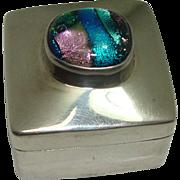Heavy Multi Colored Mexico Pill Box