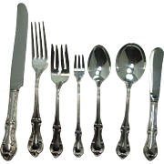 International 1940 Joan of Arc 7 Pc Place Setting for 10 plus++