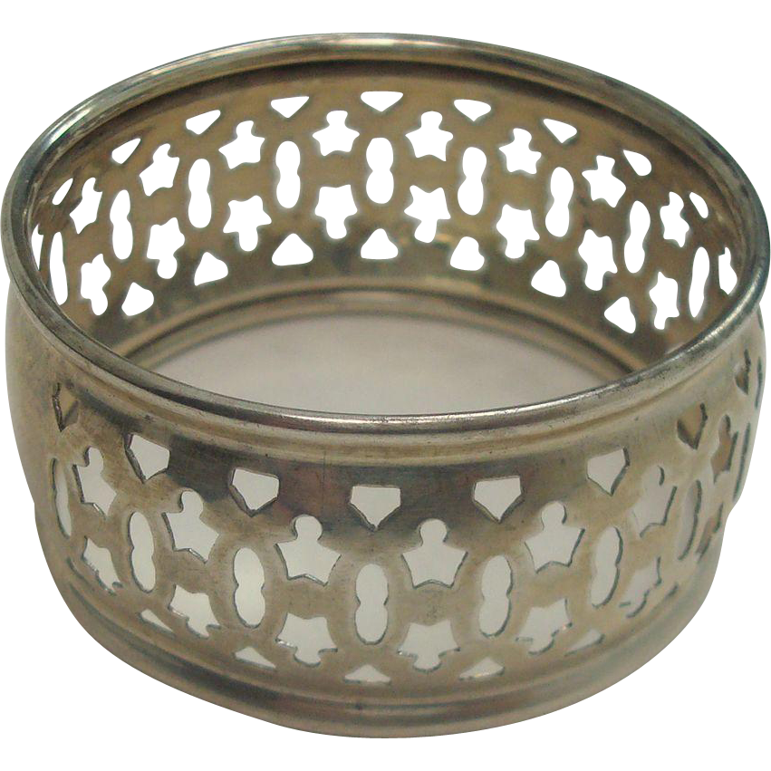 Reed and Barton Pierced Sterling Napkin Ring