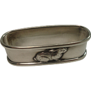 Lunt Sterling Rabbit Napkin Ring