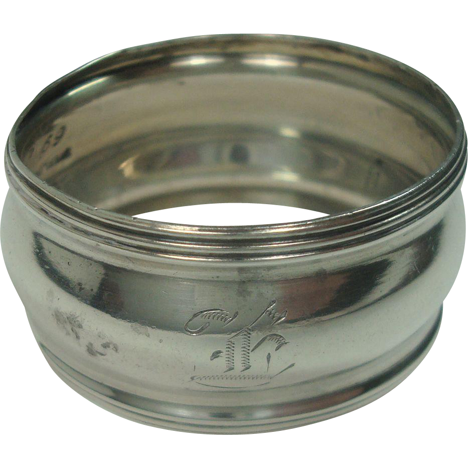 Childs Sterling Napkin Ring