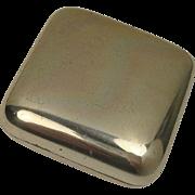 Gioielleria Galbiati Italian Mixed Metal Silver Pill Box