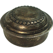 Cute Mixed Metal Beaded Pill Box from Portugal