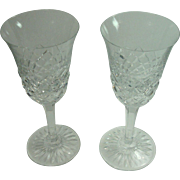 Baccarat Burgos Claret Wine Glasses- Set of Two