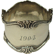 Towle 1904 Sterling Napkin Ring