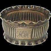 Antique 1896 Sheffield Sterling Napkin Ring