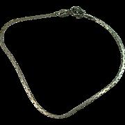 "Italian 7"" Sterling Bracelet"