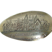 Biltmore House Asheville North Carolina Souvenir Spoon