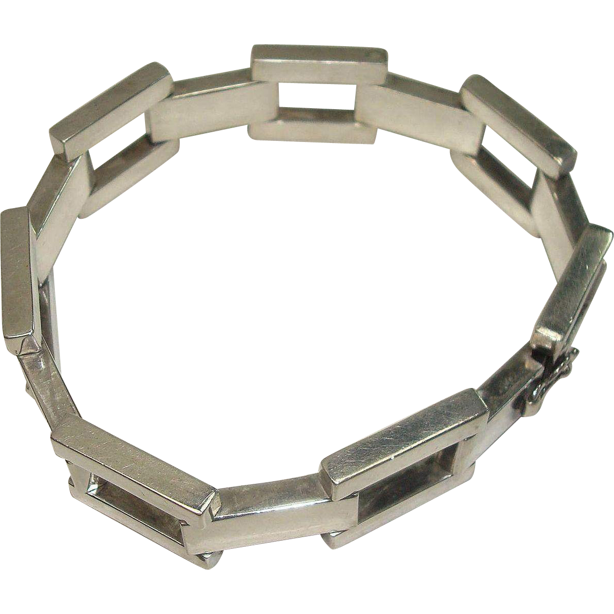 "Heavy Italian Orlandini 9"" Link Bracelet"