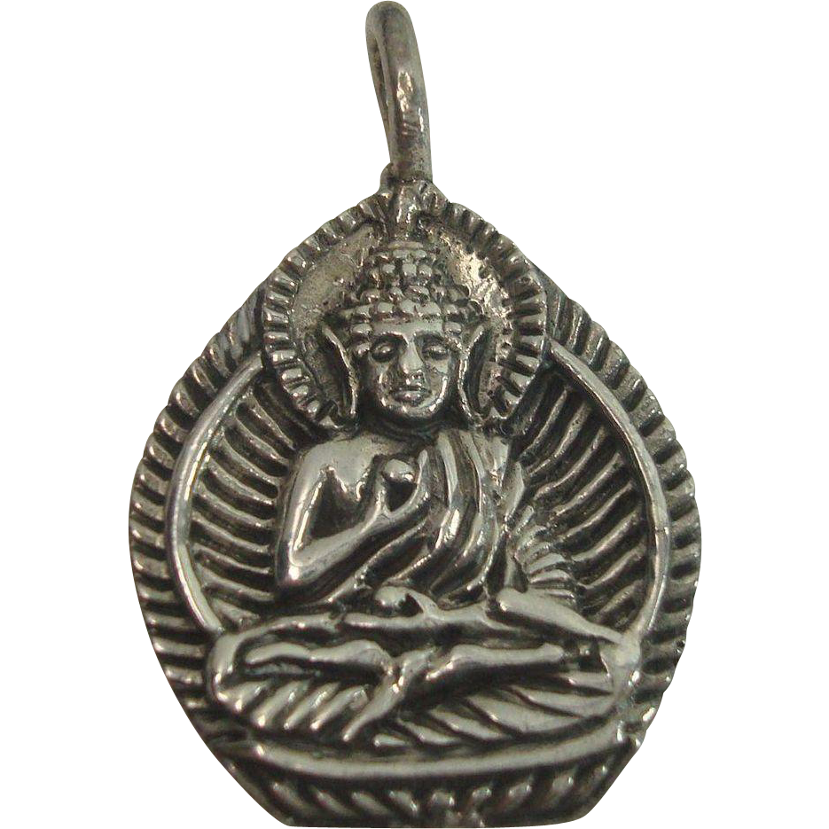 Sterling Hindu God Charm or Pendant