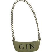 Sterling Gin Decanter Label by The Thomae Co.