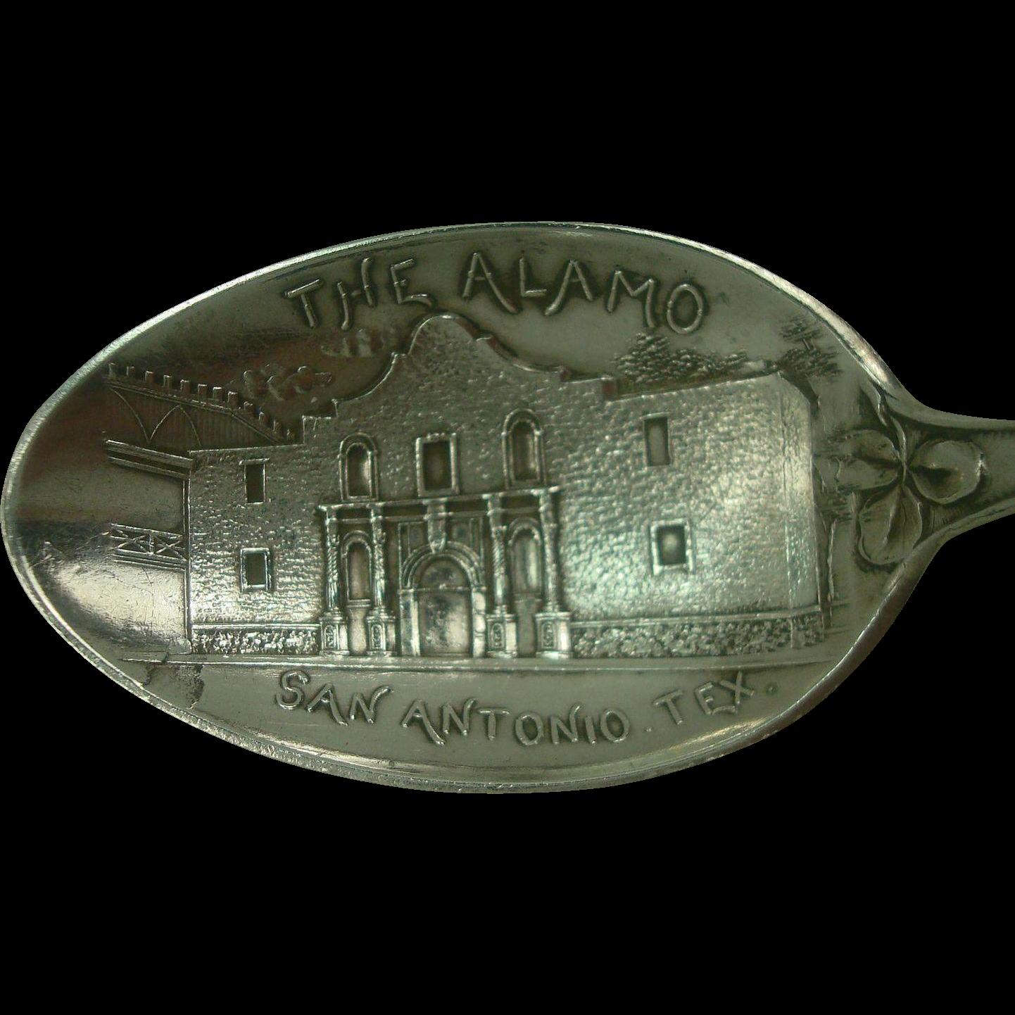 The Alamo San Antonio Texas Souvenir Spoon