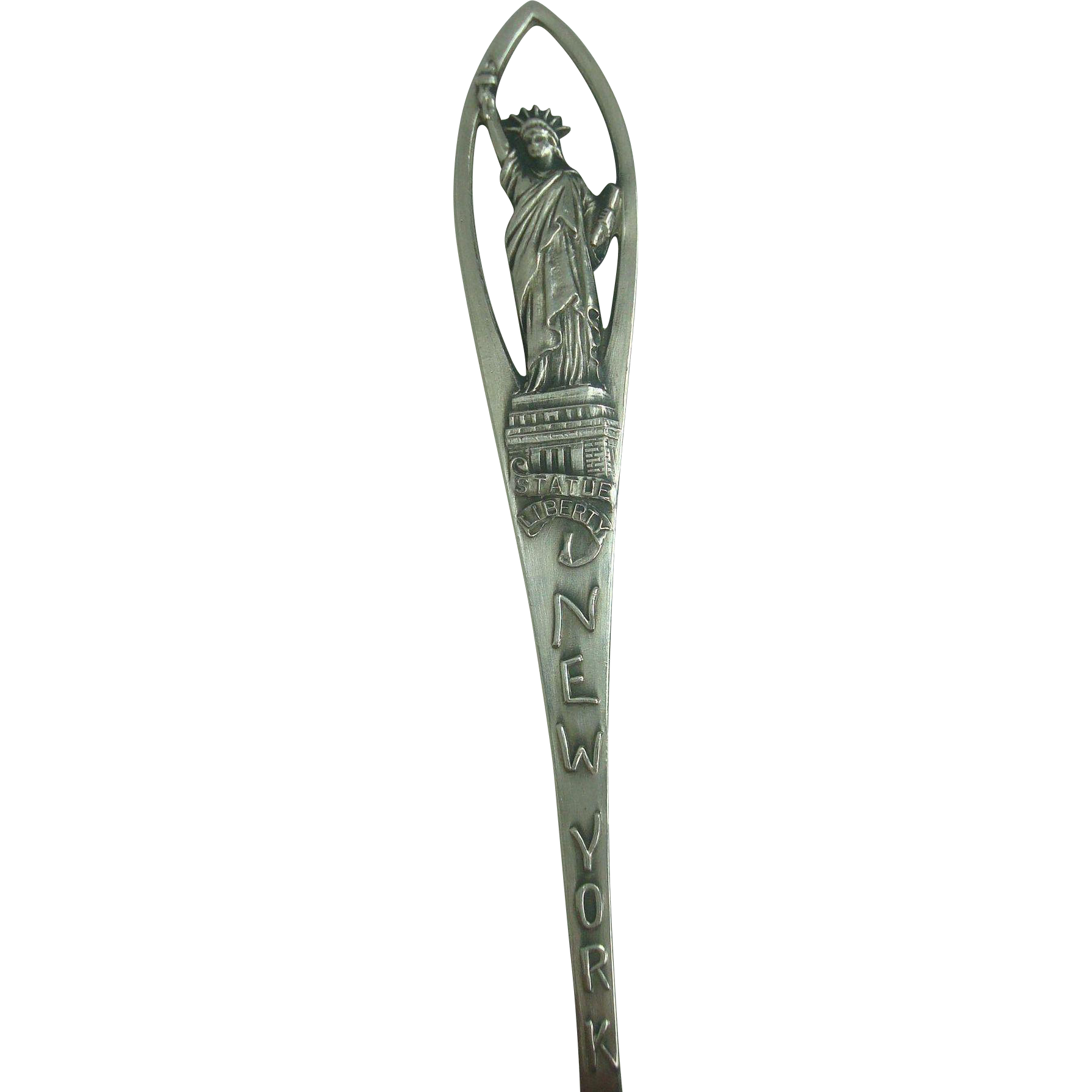 Statue of Liberty New York Souvenir Spoon