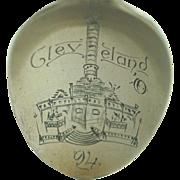 1894 Cleveland Ohio Public Square Cuyahoga Soldiers and Sailors Monument Souvenir Spoon