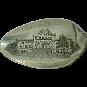 Court House Marquette Michigan Sterling Souvenir Spoon
