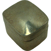Taxco Sterling Pill Box