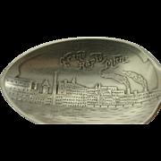 Grand Rapids Michigan Skyline View Souvenir Spoon