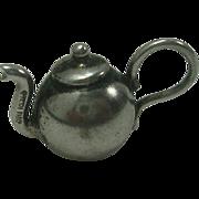 Vintage Sterling Teapot Charm
