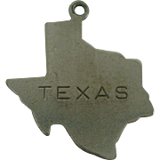 Sterling Texas State Charm