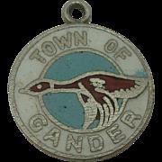 Town of Gander Enameled Charm