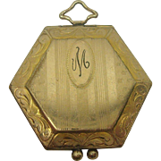 Victorian Gold Filled Octagonal Locket