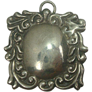 Sterling Acanthus Mirror Charm