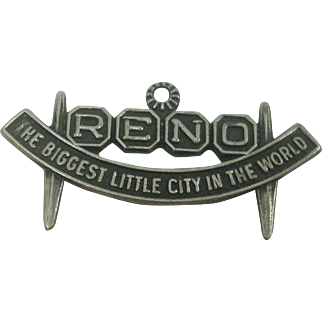 Reno The Biggest Little City in the World Sterling Charm