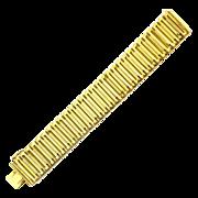 bracelet Henkel & Grosse Germany gilt c. 1961 Made in Germany signed