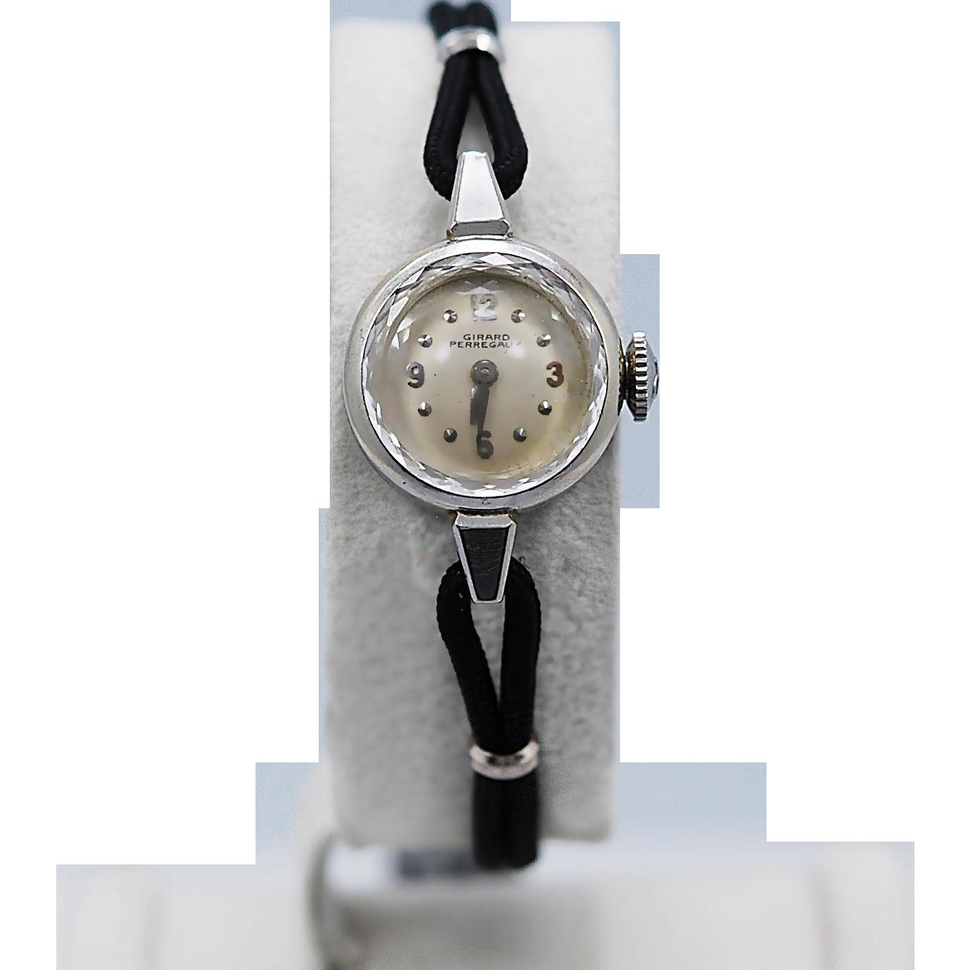 Ladies Girard Perregaux Watch c.1930's-1940's White Gold