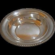 Gorham sterling silver deep dish No. 340