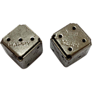 Famous Company's Early Advertising Dice