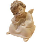 Vintage Collectible: Lladro Angel Thinking