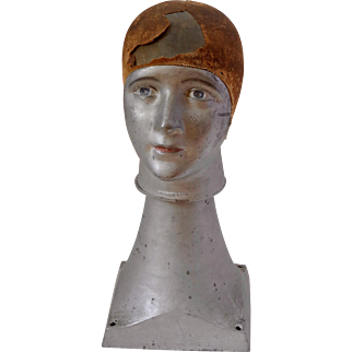 A French art deco hat steamer circa 1920/30 very stylish industrial design item