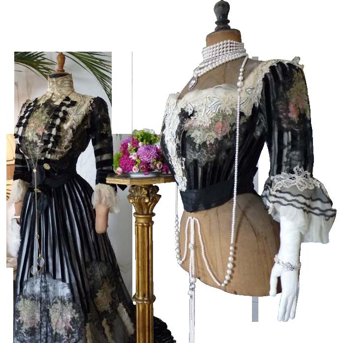 Antique Evening Gown, Antique Dress, Antique Gown ...