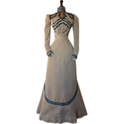 Antique Afternoon Dress, Victorian Dress, Antique Gown, ca. 1899