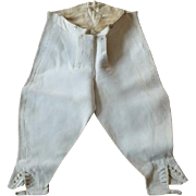 Sporting Knee Breeches, J. Dege & Sons, Antique Breeches, Riding Breeches, Military Breeches, Antique Pants, Antique Trousers, ca. 1904