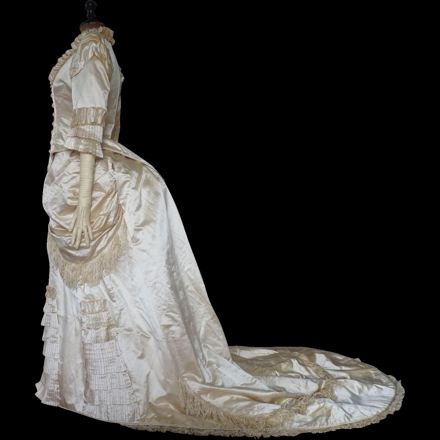 Antique Dress, Antique Gown, Victorian Dress, Bridal Dress ...