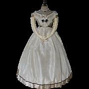 Civil War Ball Gown, Antique Dress, Antique Gown, Victorian Dress, ca. 1865