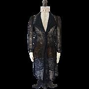 Summer Coat, Edwardian Coat, Antique Mantle, Antique Coat, 1905