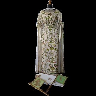 WORTH Venetian Ball Gown for Mrs. J.P. Morgan, Antique Dress, Antique Gown, Fancy Dress, Paris, ca. 1898