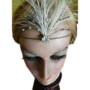 Headdress with egret feathers, 1920s